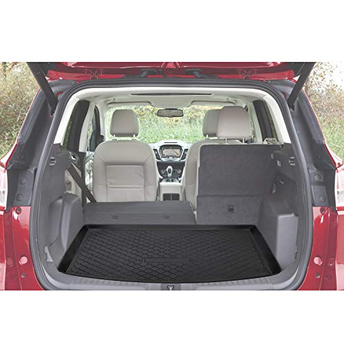 Danti Cargo Liner Rear Cargo Tray Trunk Floor Mat Protector for 2013 2014 2015 2016 2017 Ford Escape - Trunk Ford