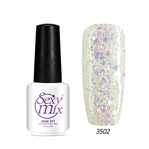 Sexy Mix UV LED Gel Polish Diamond 7ml Long Lasting Sequins DIY Enjoy #3502