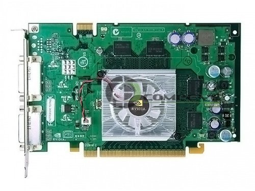 Quadro FX350 Pcie 64MB DDR2 Nvidia Gpu Dvi-sl+VGA Rohs