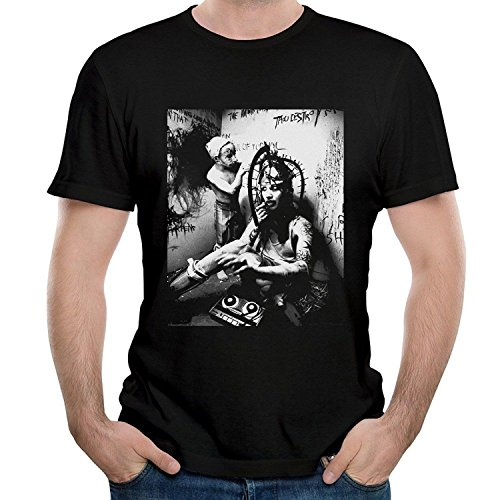 Twenty-nine COME Men's Marilyn Come and Manson Come and Bad Come and Emotion T Shirt Black X-Large
