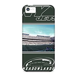 Premium Durable New York Jets Fashion Tpu Iphone 5c Protective Case Cover