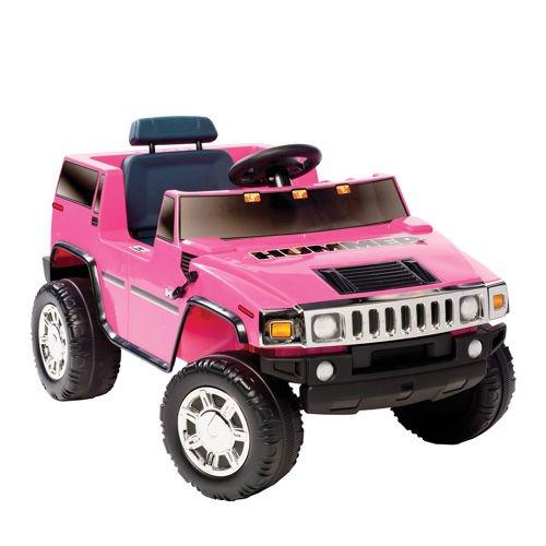 6V Pink Hummer Ride-on