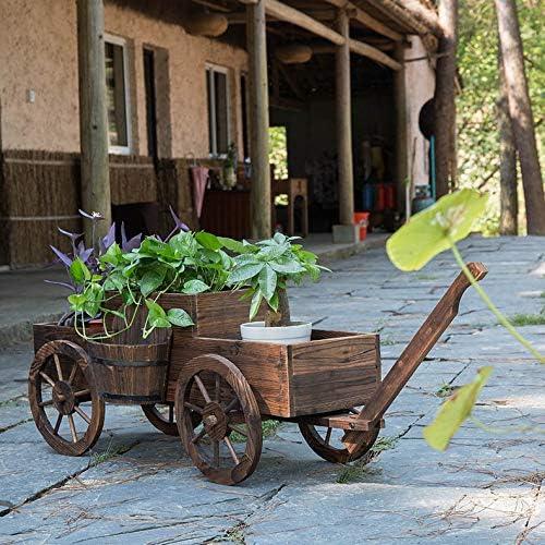 Allabcd EstanteríA Decorativa para Macetas EstanteríA Decorativas de Plantas Flores para DecoracióN Exterior Interior JardíN Soporte para Plantas de Macetas Estilo Retro Estanteria: Amazon.es: Jardín