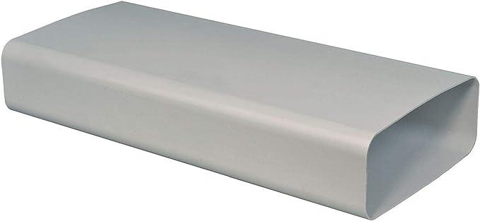 OptimAiro 568819 - Tubo de salida de aire plano (50 cm, sin manguito, 222 x 89 mm): Amazon.es: Grandes electrodomésticos
