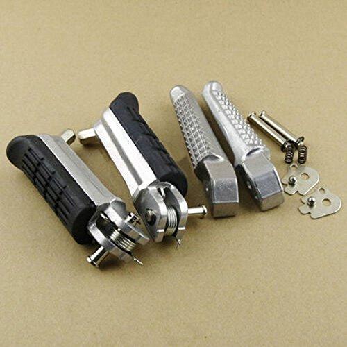 Motorcycle Front & Rear Footrest Foot pegs Fits Honda Hornet 600 CB600F Kissparts KP-MFP-Hornet 600