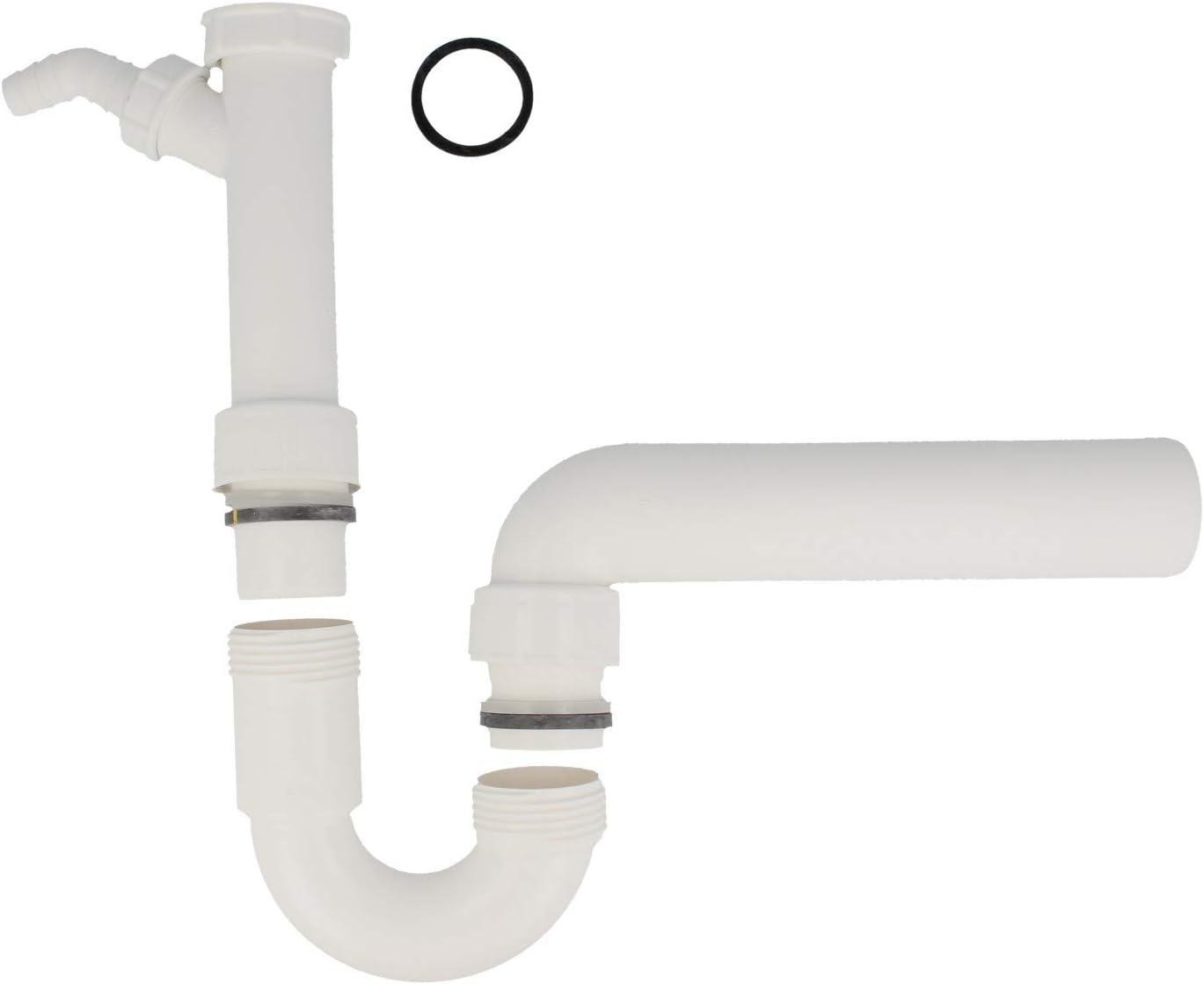 Viega R/öhrengeruchverschluss f/ür Sp/ülen A 1 1//2Zoll B 50 mm 1 St/ück VIE102838