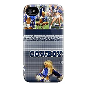 Lowomobilephone7 Scratch-free Phone Cases For Iphone 6- Retail Packaging - Dallas Cowboys