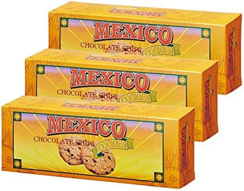 メキシコお土産 メキシコ チョコチップクッキー 3箱