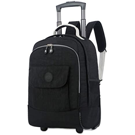 CEQT Rolling Luggage Travel Backpack Hombro Spinner Mochilas Ruedas de Gran Capacidad para Maletas Trolley Carry