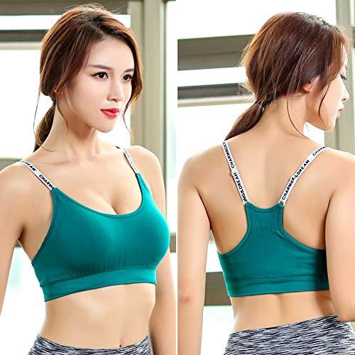 sportivo Yoga Reggiseno Reggiseno Donna Verde TieNew 1qwaOAExUp