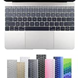All-inside Gray Ombre Keyboard Skin for Macbook 12' A1534 and new MacBook 13' without Multi-Touch Bar A1708