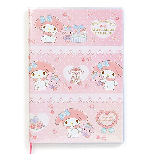 Sanrio My Melody B6 date book April starts 2018 From Japan New