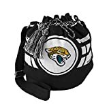 NFL Jacksonville Jaguars Ripple Drawstring Bucket Bag
