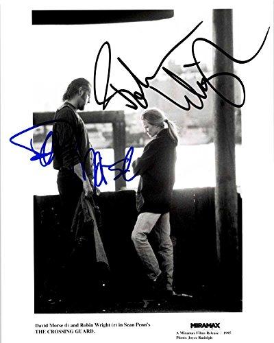 David Morse & Robin Wright Signed Autographed