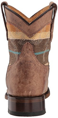 One Roper Tan Women's Boot Western Round Sierra Size 884qwAU