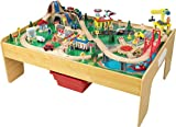 Best Train Tables - KidKraft Adventure Town Railway Train Set & Table Review