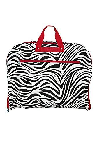 garment bag red zebra - 4