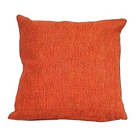 PAMEX - Funda de cojín 50x50 (Naranja): Amazon.es: Hogar