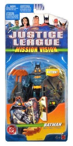 Buy mattel justice league mission vision batman