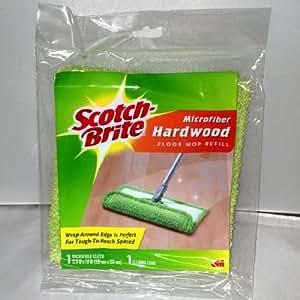 Scotch-brite Microfiber Hardwood Floor Mop Refill for F-005