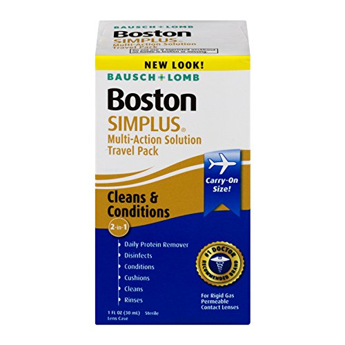 Bausch & Lomb Boston Simplus Multi-Action Solution Travel Kit 1 Each (Pack of 2)