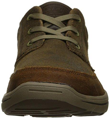 Skechers Uomini Harper Olney Marrone Scarpa Funzionale (brn)