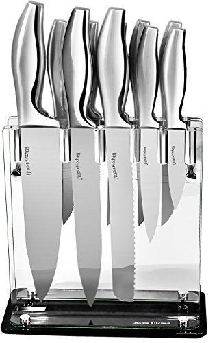 Utopia Kitchen 430 Grade Stainless Steel Kniv...
