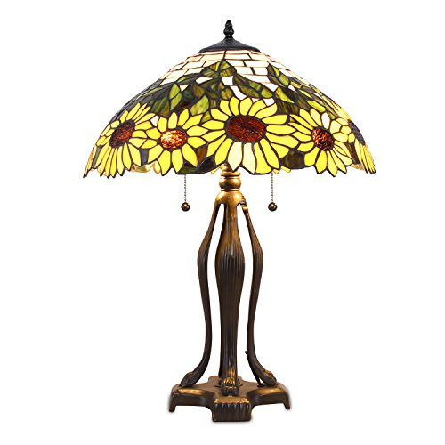 (Tiffany Style Sunflower Table Lamp)