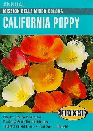 Amazon heirloom california poppy mission bells mixed colors heirloom california poppy mission bells mixed colors mightylinksfo