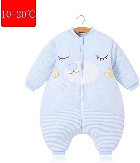 Bebé Saco De Dormir, mangas extraíbles Niños Niñas Bebés y niños Saco de dormir para bebés Sacos de dormir de algodón Otoño Invierno Mantas para niños,Thin,110: Amazon.es: Bebé