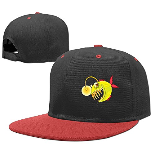 YELOFISH Kids' Hip Hop Baseball Caps Fish Snapback Hats