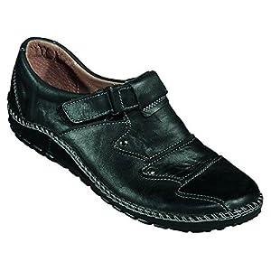 Miccos Shoes womens Velcro shoeVelcro shoe black size 36.0 EU