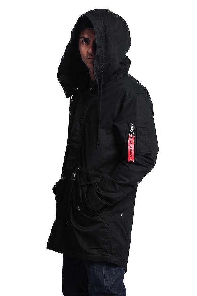 G-Style USA Mens MA-1 Bomber Style Anorak Jacket