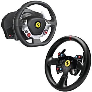 Thrustmaster Xbox One/PC Ferrari 458 Italia Edition TX Racing Wheel with Ferrari GT F458 Challenge Wheel Add-on (B00JL249NW) | Amazon price tracker / tracking, Amazon price history charts, Amazon price watches, Amazon price drop alerts