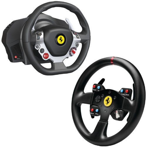 Thrustmaster Xbox One/PC Ferrari 458 Italia Edition TX Racing Wheel with Ferrari GT F458 Challenge Wheel Add-on