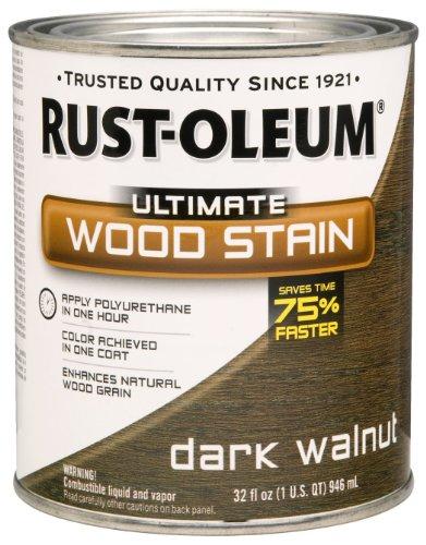 RUST-OLEUM 260147 Quart Dark Walnut Interior Wood Stain