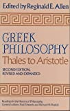 Greek Philosophy : Thales to Aristotle, Allen, Reginald E., 0029006600