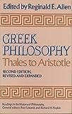 Greek Philosophy : Thales to Aristotle, Allen, Reginald E., 0029006600