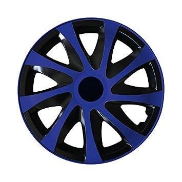 Gr/ö/ße w/ählbar 14 Zoll Radkappen Radzierblenden ONYX FLOWERS passend f/ür fast alle Fahrzeugtypen universal
