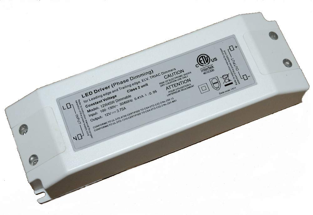 amazon com diode led di td 12v 45w 45 watt omnidrive electronicamazon com diode led di td 12v 45w 45 watt omnidrive electronic dimmable led driver 12v dc garden \u0026 outdoor