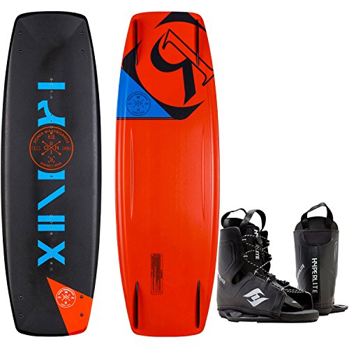 Ronix District Park Wakeboard Mens 134cm + Hyperlite Bindings O/S 8-12