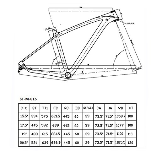 FASTEAM 29er 3K Glossy Full Carbon Fiber Mountain Bike Frame 135x9 and 142x12mm Thru Axle Compatible MTB Carbon Frame