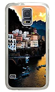 Samsung Note S5 CaseAmalfi Coast In Italy PC Custom Samsung Note S5 Case Cover Transparent