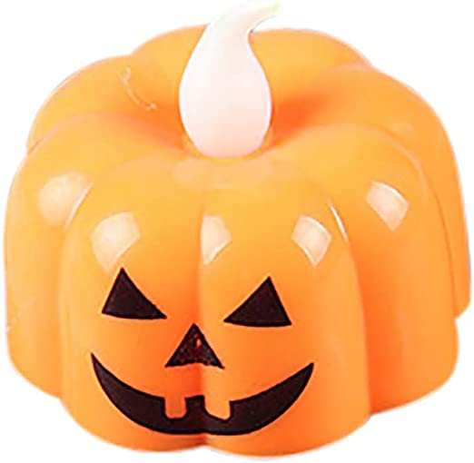 HALLOWEEN Pumpkin Light   Flikers Orange  LED