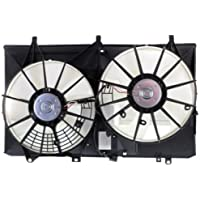 MAPM Premium RX350 10-13 RADIATOR FAN SHROUD ASSEMBLY, w/o Towing Pkg.