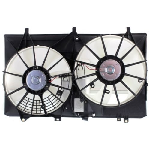 MAPM Premium RX350 10-13 RADIATOR FAN SHROUD ASSEMBLY, w/o Towing Pkg. by Make Auto Parts Manufacturing