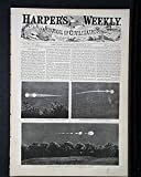 The meteor of July 20 - a Telegraph Line Round the World - Harper's Weekly, August 4, 1860