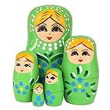 Best Winterworm Dolls - Winterworm Set of 5 Blonde Girl Blue Flower Review