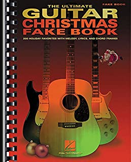 Amazon.com: The Best Christmas Guitar Fake Book Ever (Fake Books ...