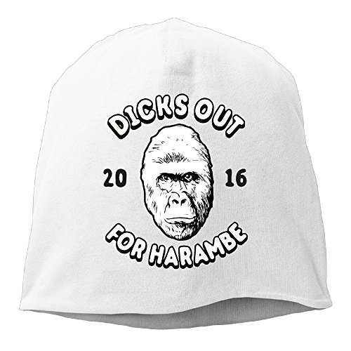 fashion-outdoor-dicks-out-for-haramb-2016-beanie-skull-hat-cap-white